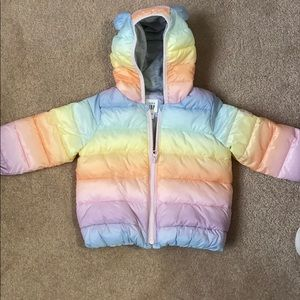 Baby Girl Gap Puffer jacket